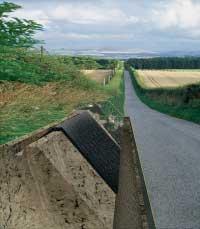 Укрепление берегов, оврагов, склонов и откосов. Берегоукрепление. Армирование почвы